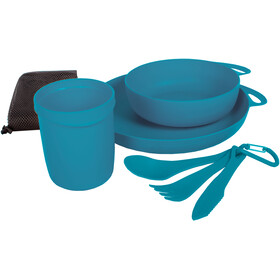 Sea to Summit Delta Set de vaisselle pour camping, pacific blue